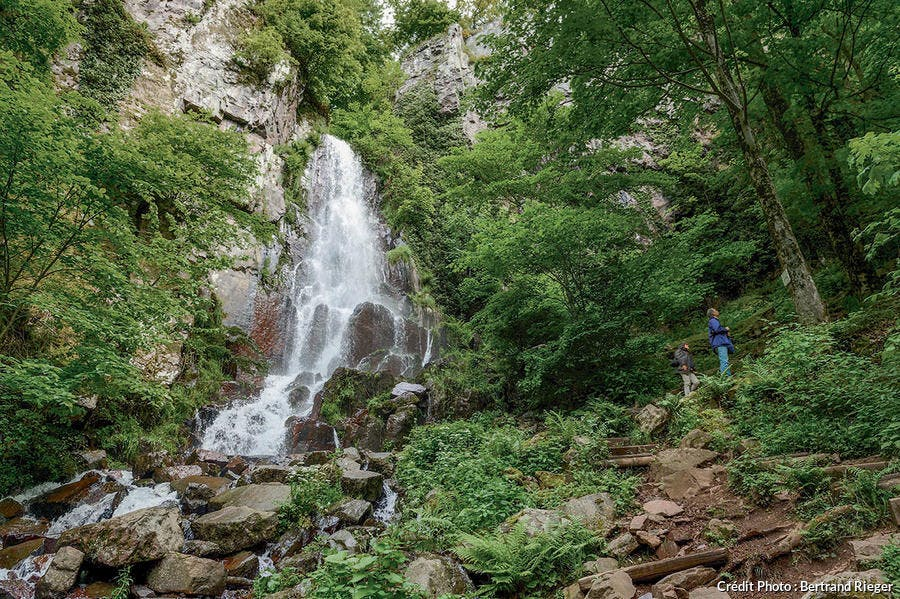 La cascade de Nideck.