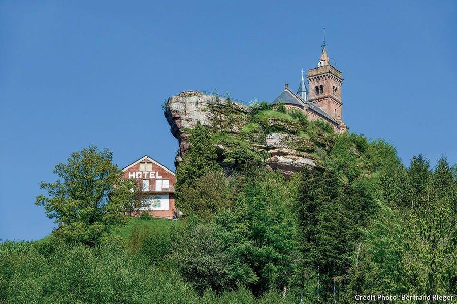 Le rocher de Dabo