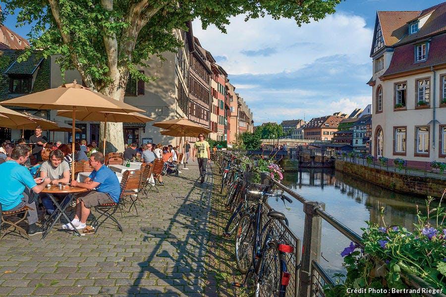 La place Benjamin Zix à Strasbourg