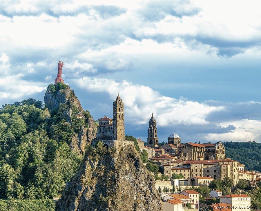 Vue d'ensemble du Puy-en-Velay