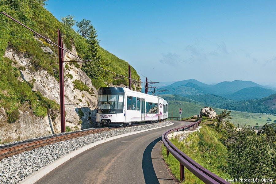 Le train panoramique des Dômes