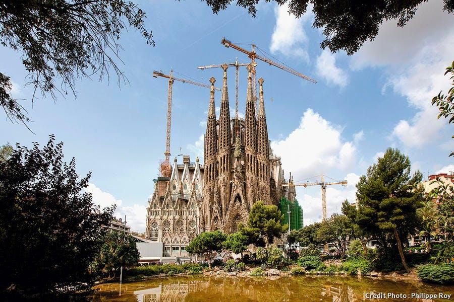 La sagrada Familia à Barcelone