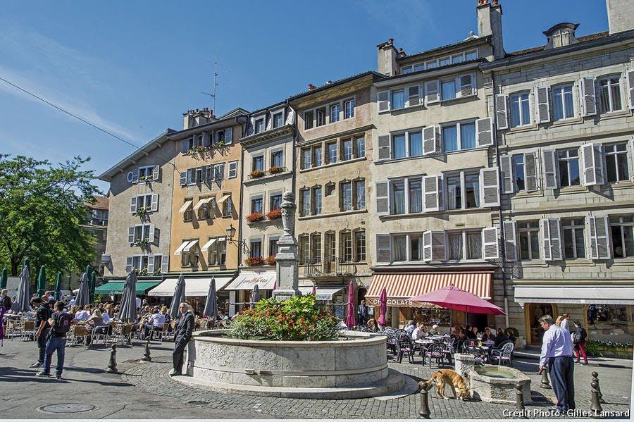 La place du Bourg-de-Four