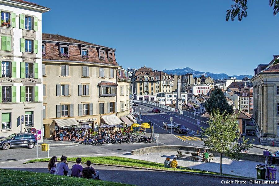 Vue d'ensemble de Lausanne