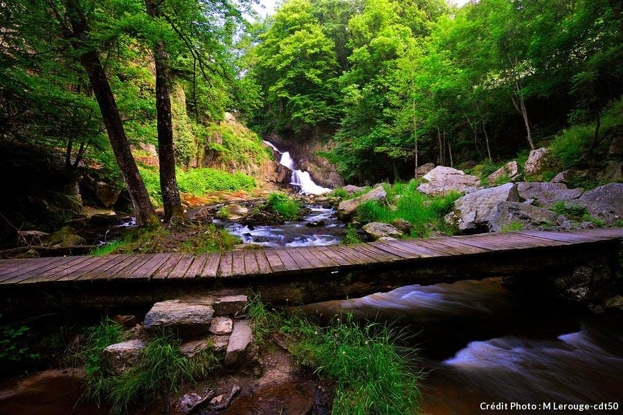 La cascade de Mortain