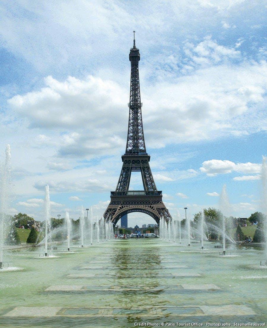 Fontaine du Trocadéro à Paris