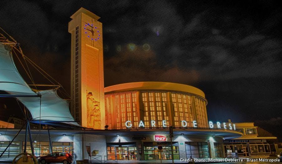 la gare de Brest