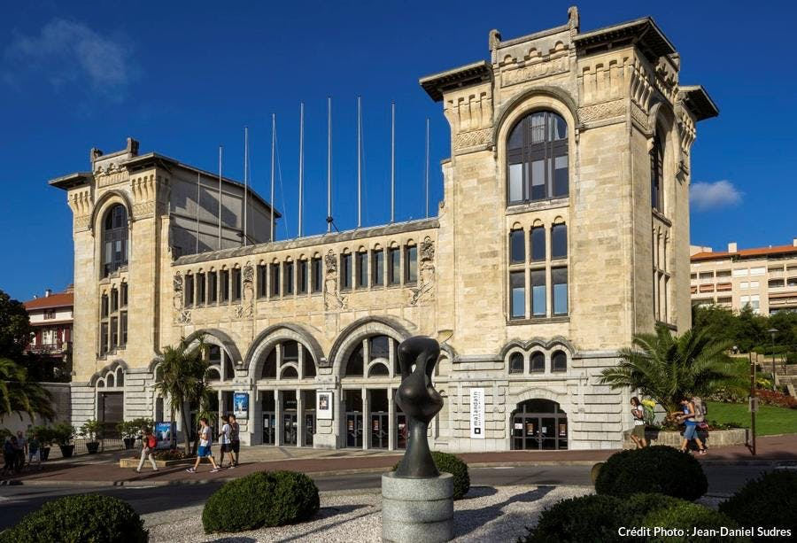 La gare du Midi à Biarritz