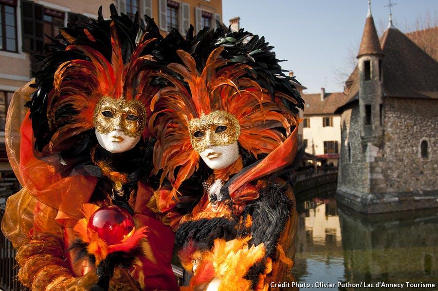 Déguisement de Mardi gras au carnaval d'Annecy
