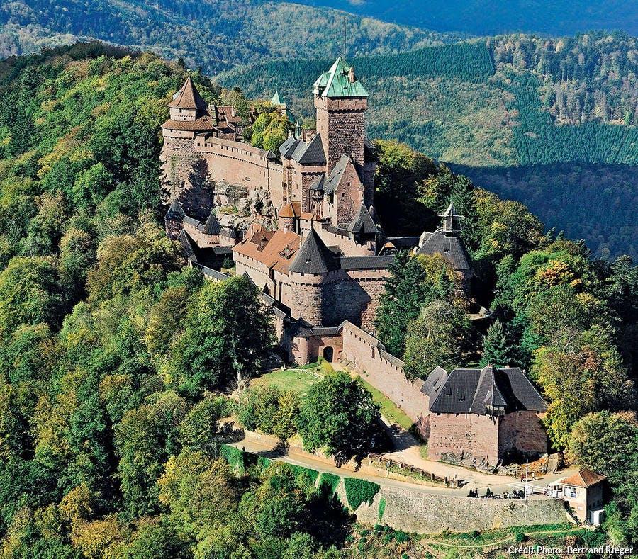le château du Haut-Kœnigsbourg