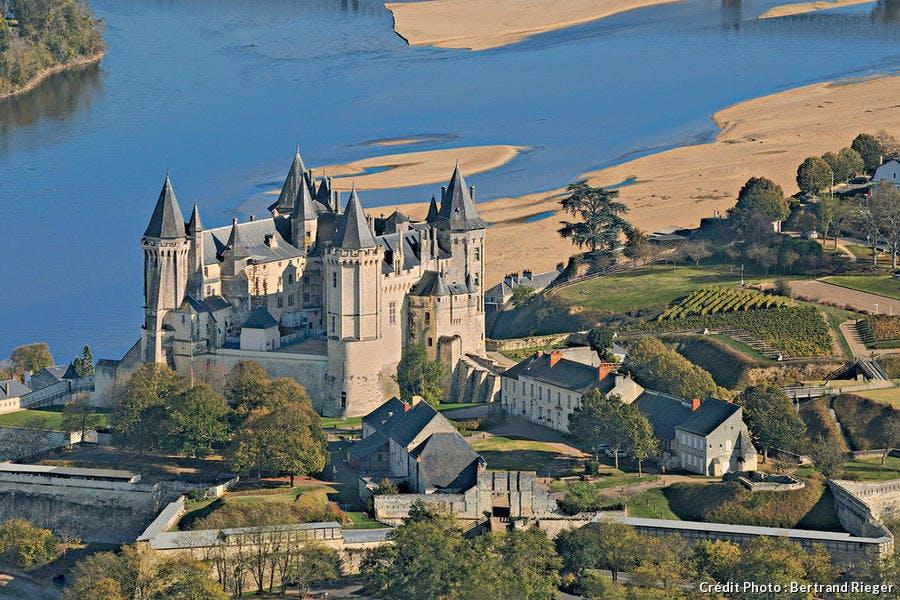 Le château fort de Saumur