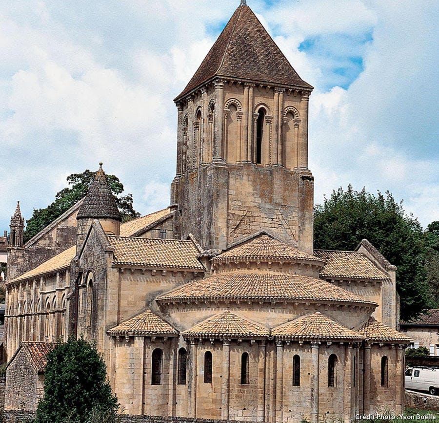 L'église Saint-Hilaire de Melle