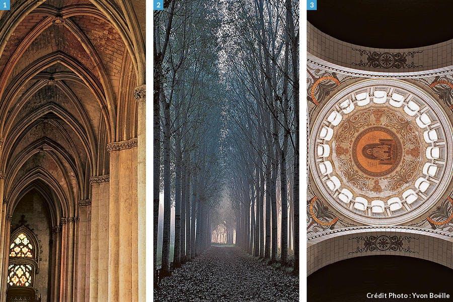 Composition de photos de Tours et des environs