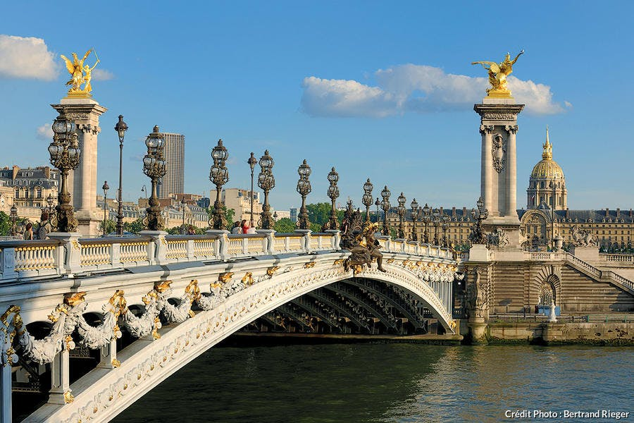 Le pont Alexandre III à Paris
