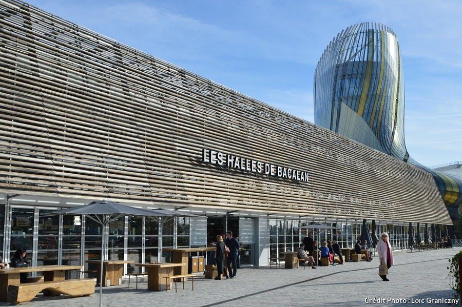 Les halles de Bacalan, à Bordeaux