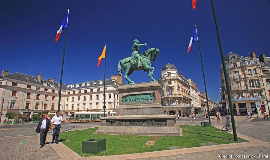 Jeanne d'Arc sur Orléans