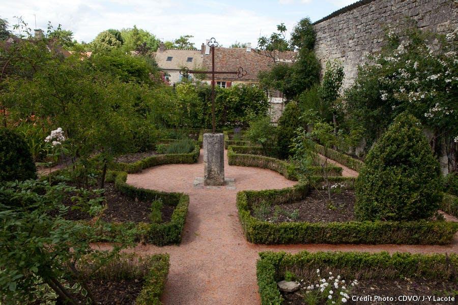 Jardin du musée de l'outil, dans le Val d'Oise