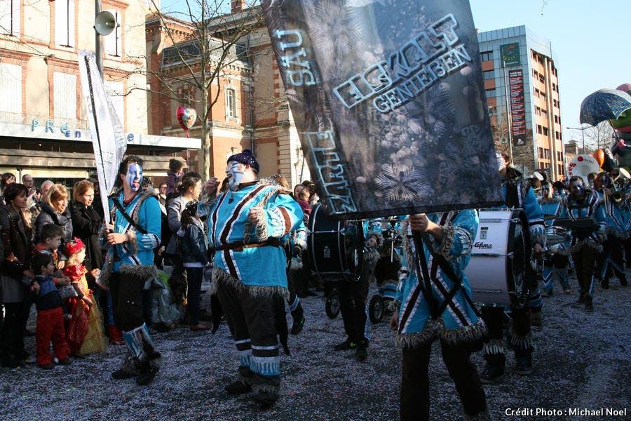 Défilé lors du carnaval d'Albi