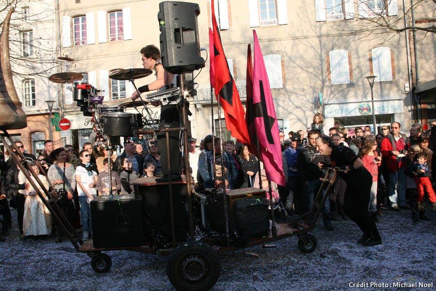 Concert au carnaval d'Albi