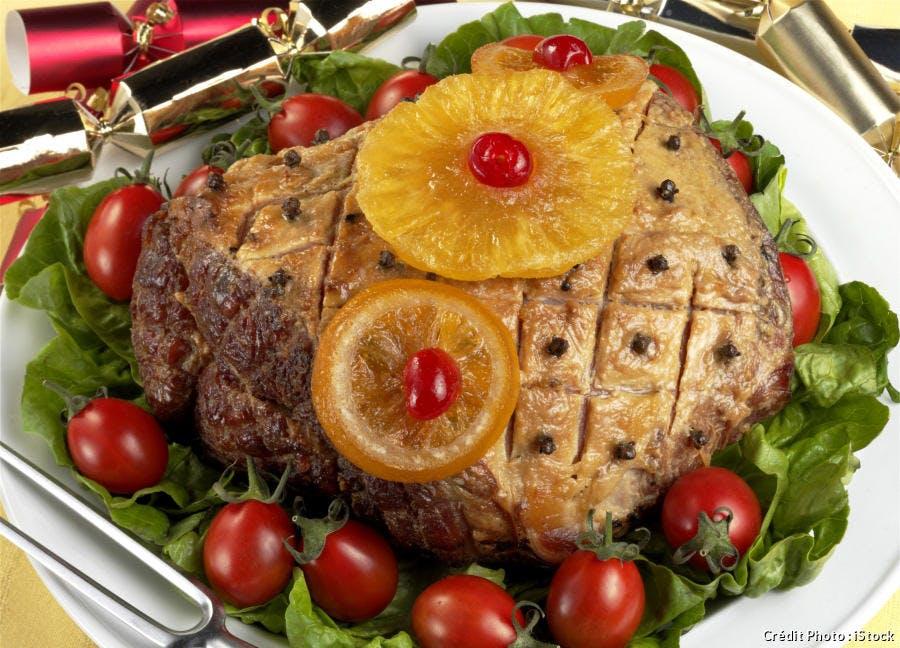 Jambon de Noël antillais