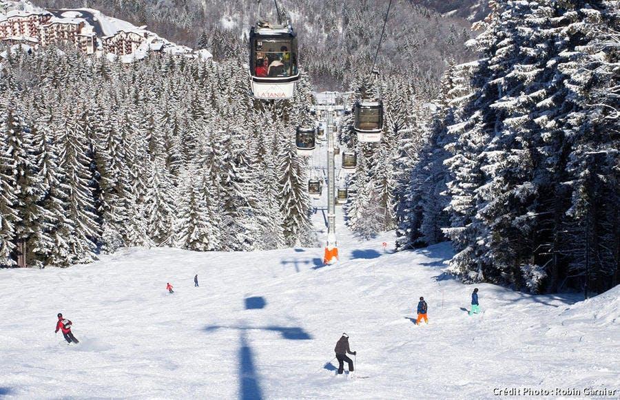 Piste de ski de La Tania