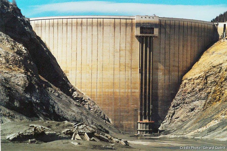 Le barrage de Tignes