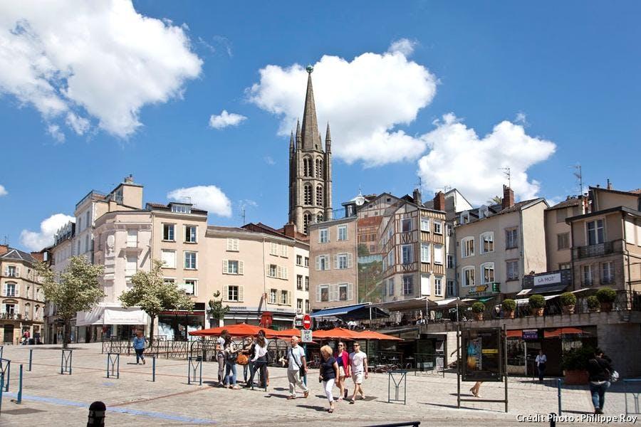 Place du Château à Limoges