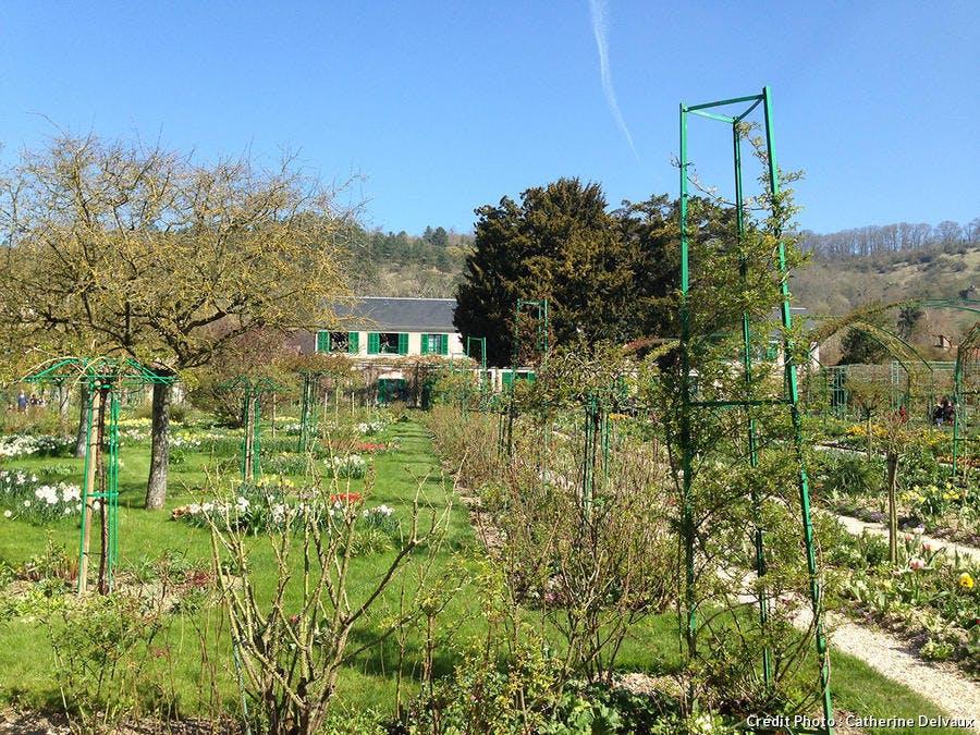 jardin de Claude Monet
