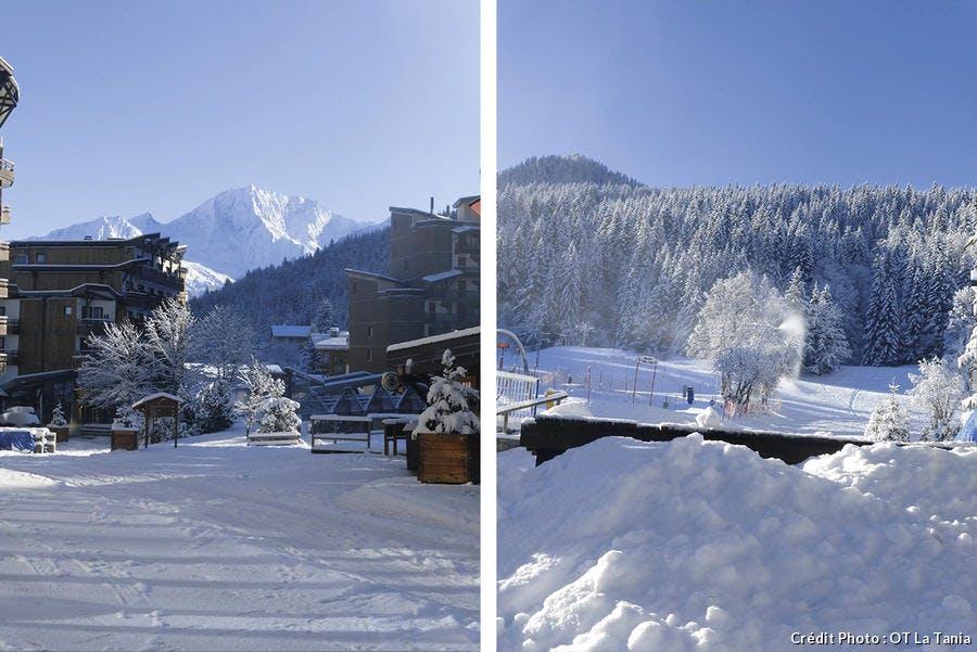 neige La Tania