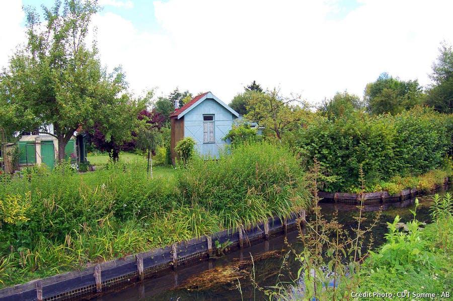 Maison-cabane aux Hortillonnages