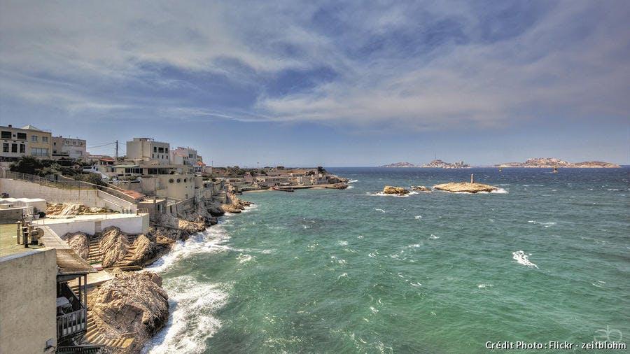 Marseille vue depuis la corniche