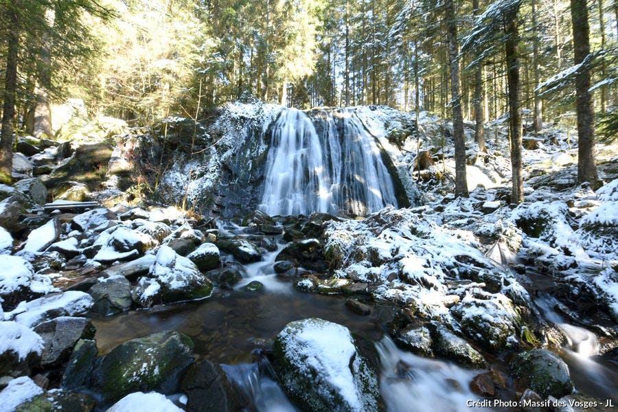La cascade de la Passoire dans les Vosges