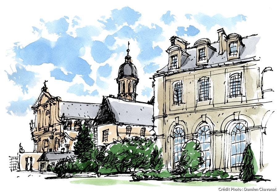 L'abbaye Saint-Martin de Mondaye