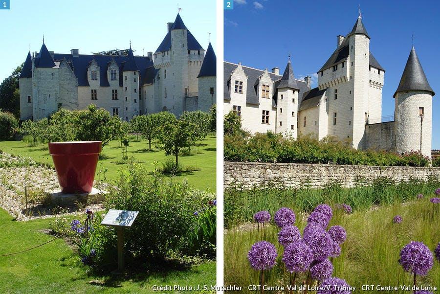 Les jardins médiévaux du château du Rivau