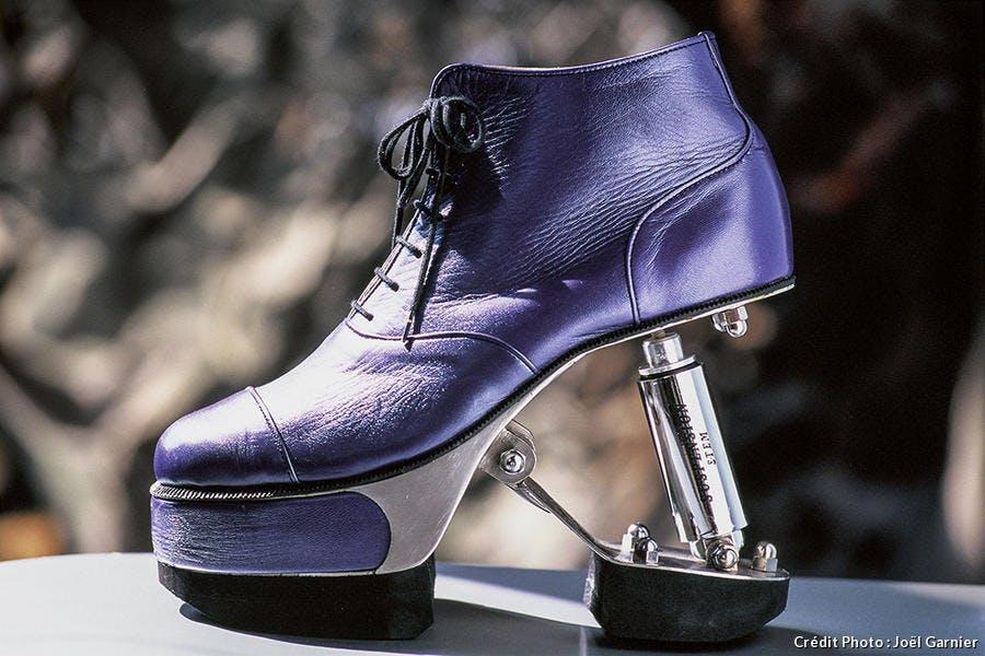 Chaussures Paco Rabanne au musée international de la chaussure