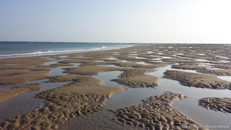 Phare de Cordouan - banc de sable