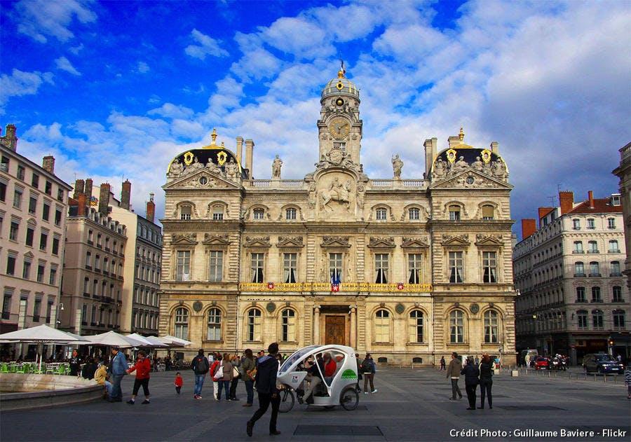 La place des Terreaux à Lyon