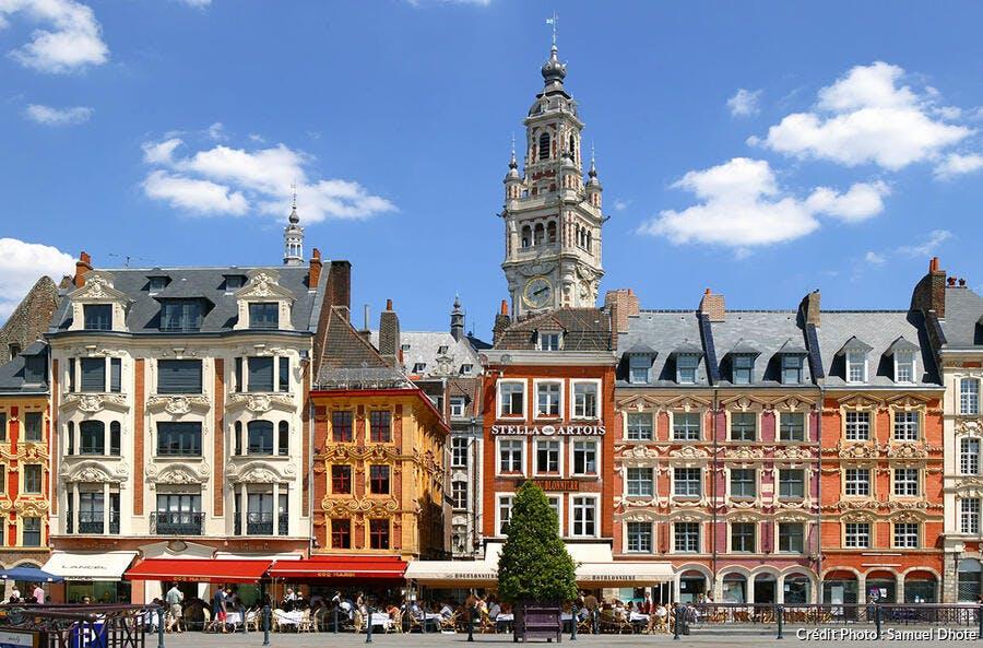 La Grand Place à Lille