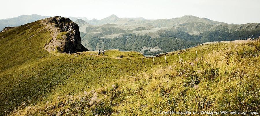 Le parc régional naturel d'Auvergne