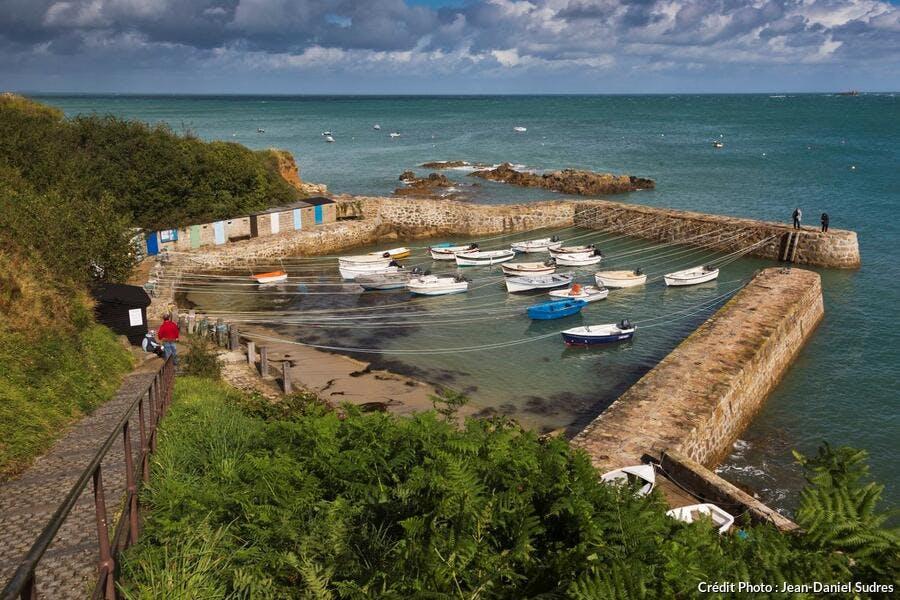 Port Racine - le plus petit port de France