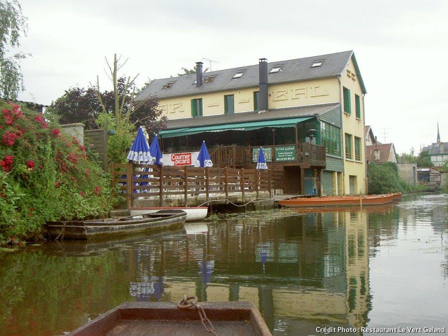 Restaurant Le Vert Galant à Amiens
