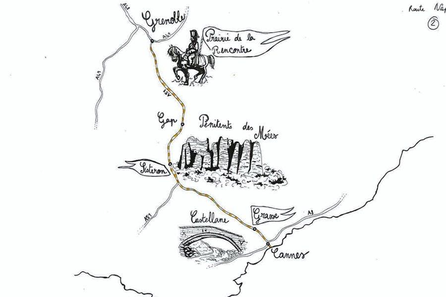 Itineraire De La Route Napoleon