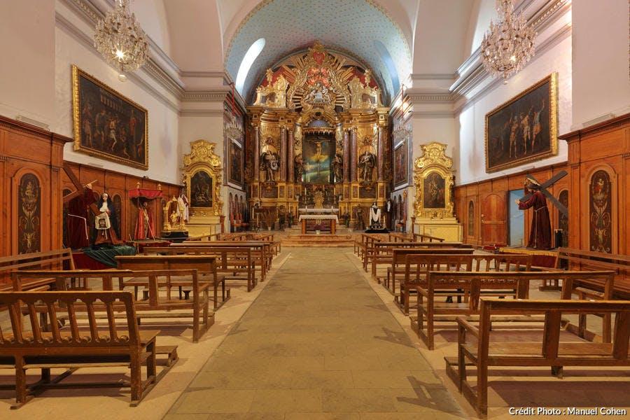 Chapelle de de la Sanch, église Saint-Jacques, à Perpignan
