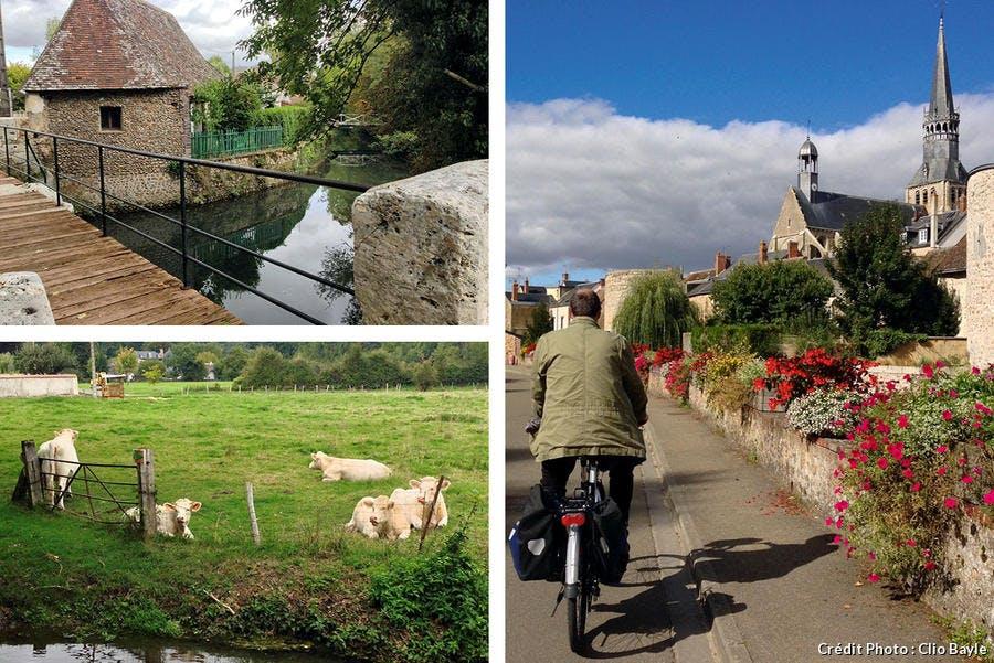 Saint-Jacques à vélo