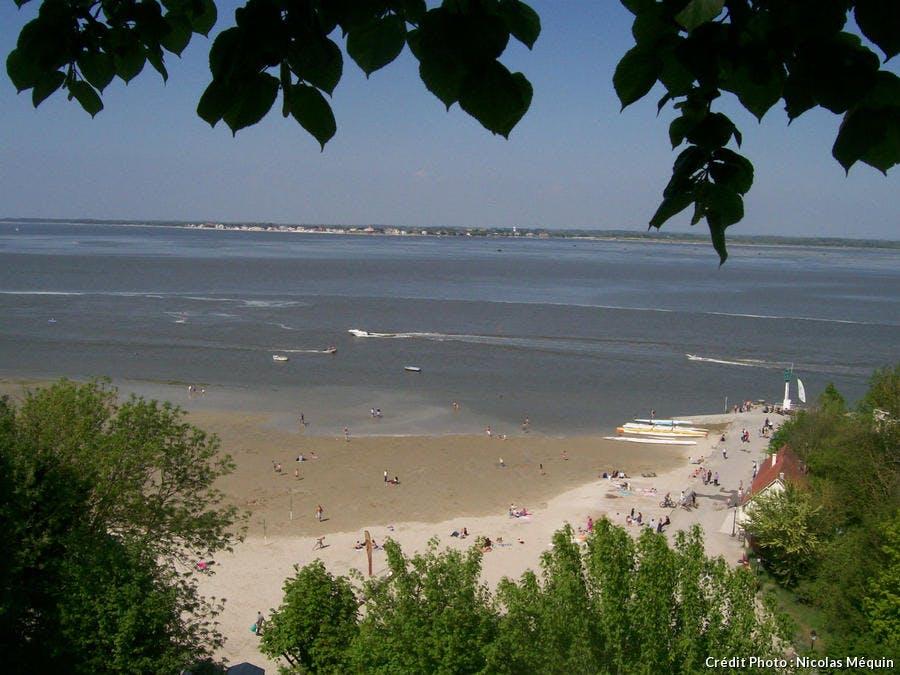 la baie de Saint-Valéry