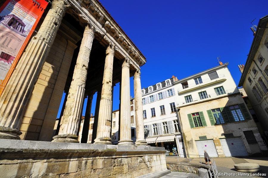 Temple antique de Vienne