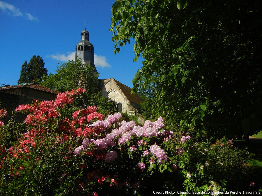 Jardin du Moyen-Âge de l'Abbaye de Thiron Gardais