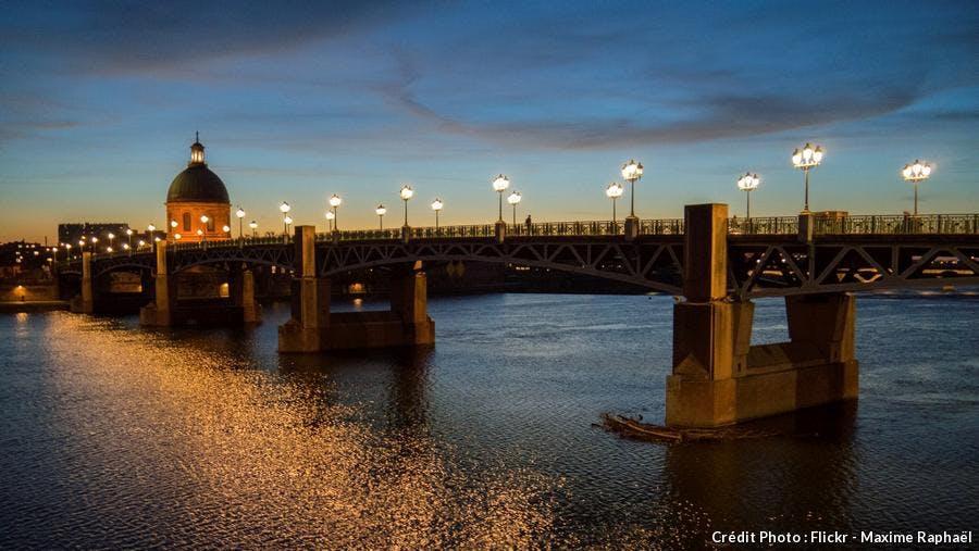 Pont Saint-Pierre à Toulouse