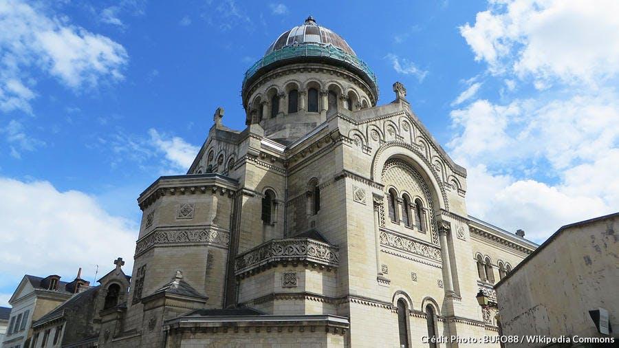 La basilique Saint-Martin à Tours