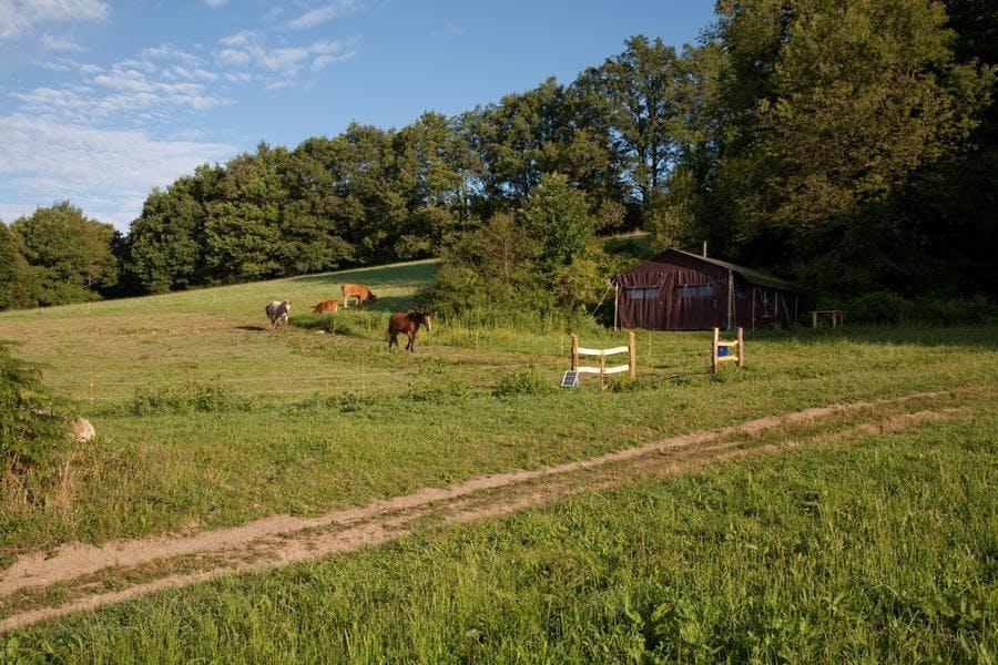 La ferme des Champeaux dans le Limousin